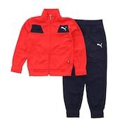 ジュニア ポリ トラック スーツ 585289-11 RED