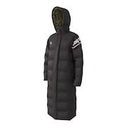 中綿コート QMMOJK07 BLK ベンチコート オンライン価格