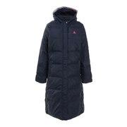 ロングダウンジャケット QMWOJK05 NVY ベンチコート スポーツウェア オンライン価格