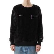 フリースクルーネックシャツ C3-U010 090