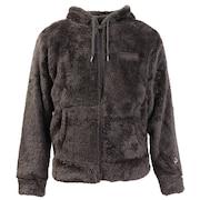 【オンライン価格】ボア フリース ジップフードフリースジャケット C3-L615 080X もこもこ