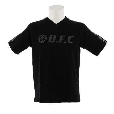 【多少の傷汚れありの為大奉仕】Tシャツ 半袖 メンズ DFC ワッフル 863D8CD5736 BLK
