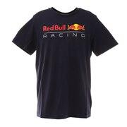 レッドブル ロゴ Tシャツ 763130 01 NVY 半袖