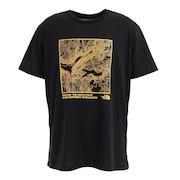 ショートスリーブ TOPOGRAPHY Tシャツ NT32180 K