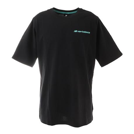 Tシャツ メンズ 半袖 オーバーサイズド MT11560BK カットソー