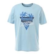 Tシャツ メンズ 半袖 サマー パーム グラフック 581917-18 カットソー