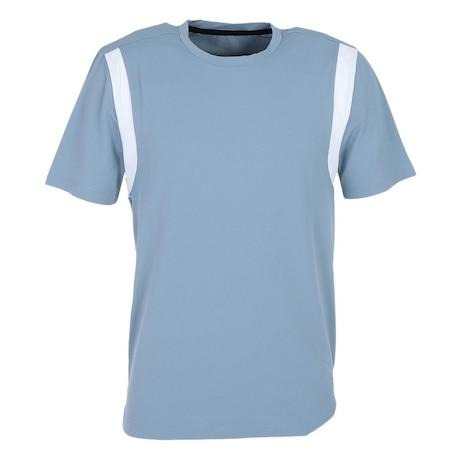 洗っても機能が続く UV 吸汗速乾 Arm vent 半袖Tシャツ 863PG1DSK6769 IBLU