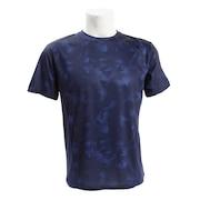 Tシャツ メンズ 半袖 ドライプラスUVプリント 863PG9SD9290NVY カットソー