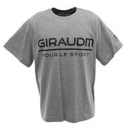 Tシャツ メンズ ドライプラス UV 半袖Tシャツ 863GM0CD2435 GRY