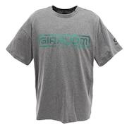 Tシャツ メンズ ドライプラス UV 半袖Tシャツ 863GM0CD2441 GRY