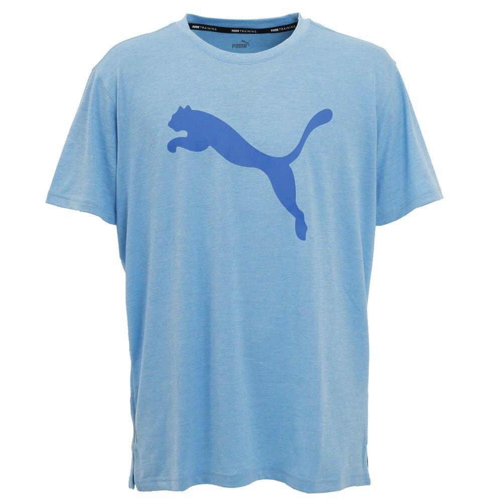 FAVORITE ヘザー キャット 半袖トレーニングTシャツ 518821 14 LBLU