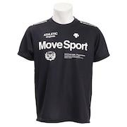 グリッドニット ハイブリッドTシャツ DMMNJA51 BK オンライン価格