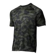 テック2.0 カモ 半袖Tシャツ 1361464 BQG/BLK AT