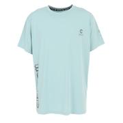 【送料無料! 20日まで】洗っても機能が続く UV 吸汗速乾 接触冷感 ドライプラスクール ハイブリッド半袖Tシャツ 863GM1EG6710 GRN