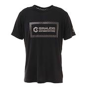 【送料無料! 20日まで】洗っても機能が続く UV 吸汗速乾冷感 ドライプラスクール 半袖Tシャツ 863GM1ES6705 BLK