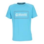 【送料無料! 20日まで】洗っても機能が続く UV 吸汗速乾冷感 ドライプラスクール 半袖Tシャツ 863GM1ES6705 BLU