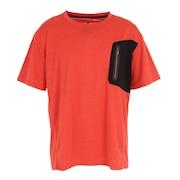 ドライプラス クールカチオン ポケット半袖Tシャツ 863D1SD6838 ORG