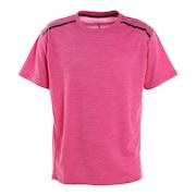 接触冷感 吸汗速乾 UV ドライプラスクール カチオン 半袖Tシャツ 863D1SD6839 PNK