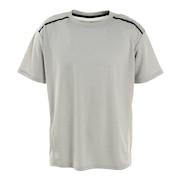 接触冷感 吸汗速乾 UV ドライプラスクール カチオン 半袖Tシャツ 863D1SD6839 WHT