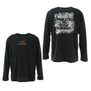 Tシャツ メンズ 長袖 ロングスリーブアブソルートリーノーシャツ NT82186 DS