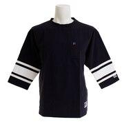 PRO 3/4スリーブTシャツ RBM19S0004 NVY オンライン価格