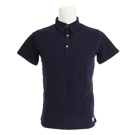 【ポイント15倍】【多少の傷汚れありの為大奉仕】ポロシャツ インディゴ TPOIND-18SRL NVY