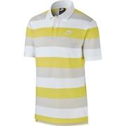 マッチアップ ストライプ 半袖ポロシャツ CJ4466-100 オンライン価格