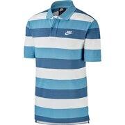 マッチアップ ストライプ 半袖ポロシャツ CJ4466-424 オンライン価格