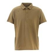 クアトロセンサー 鹿の子ポロシャツ DMMRJA71Z BG