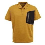 ドライプラス クールカチオン 半袖ポロシャツ 863D1SD6840 GLD