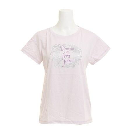 【多少の傷汚れありの為大奉仕】Tシャツ レディース 半袖 T/C DROP SHOULDER HU18SCD864412LVD