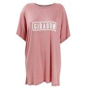 Tシャツ レディース 半袖 UV レーヨン 864GM0CD2447 PNK