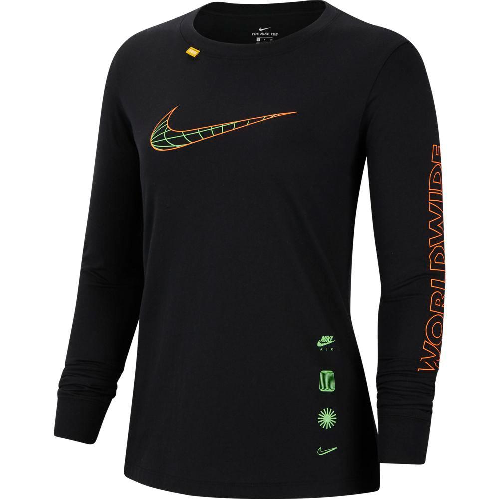 NIKE ワールドワイド 長袖Tシャツ CV9174-010 オンライン価格 L 90 ウェア