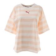 SUMMER STRIPES AOP Tシャツ 845869 27 PNK