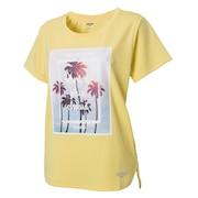 Tシャツ レディース 半袖 ドライプラス UVメッシュ 864D8CD5650 YEL