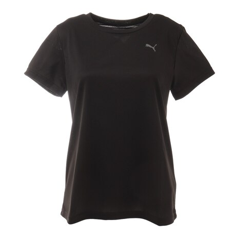 トレーニングTシャツ 520659 01 BLK 半袖