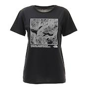 半袖Tシャツ TOPOGRAPHY TEE NTW32180 K