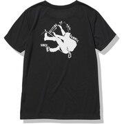 ショートスリーブロッククライマーTシャツ NTW32172 K