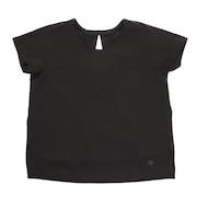 ハイブリッド 半袖Tシャツ DMWMJA65Z BK