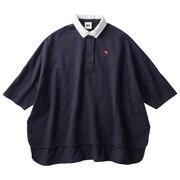 ポンチョ風ラガーシャツ WA40705 NV