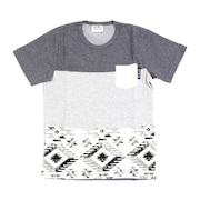 ジュニア 切替えポケット半袖Tシャツ 68112 CGRY オンライン価格