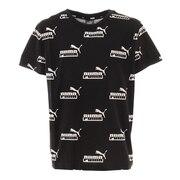 ジュニア AMPLIFIED AOP Tシャツ 588948 01 BLK