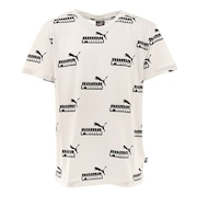ジュニア AMPLIFIED AOP Tシャツ 588948 02 WHT