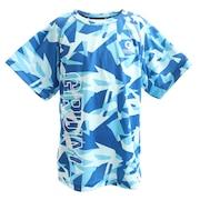 ドライプラス UVメッシュ半袖Tシャツ 865GM0CD2457 BLU