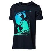 ボーイズ テック プリント ロゴ 半袖Tシャツ 1364227 001