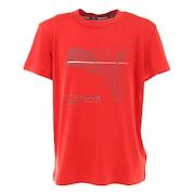 ジュニア ACTIVE SPORTS ポリ Tシャツ 588900 11 RED