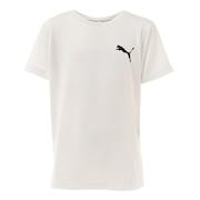 ジュニア ACTIVE ESS スモールロゴ Tシャツ 588823 02 WHT