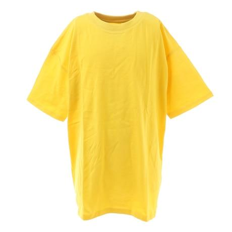 ガールズ ダンスビッグTシャツ 865PA1CD6648YEL 半袖