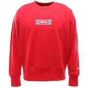 ボックスロゴ スウェット クルーネック sl202001003-RED