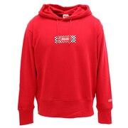 ボックスロゴ スウェットフーディ sl202001001-RED
